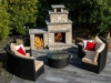 Landscape Kits: Quarry Stone Compact Fireplace