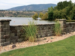 Retaining Walls: Country Manor